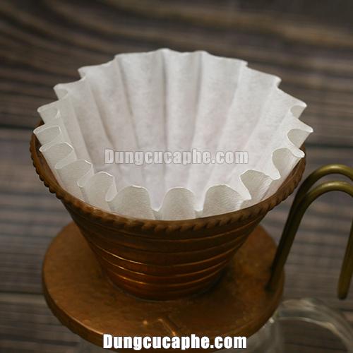 Lọc giấy cà phê pha kiểu nhật