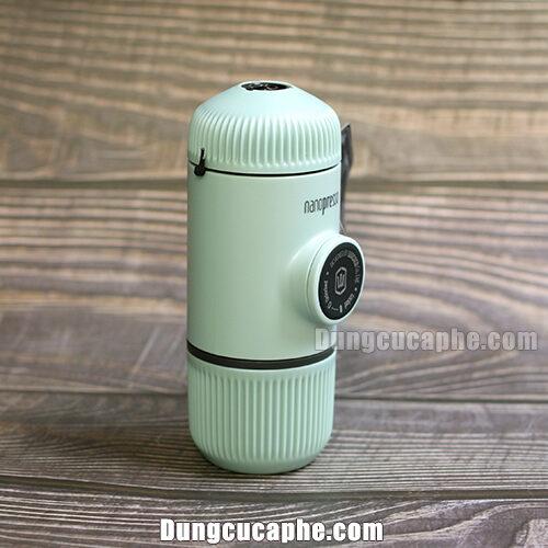 Máy nén cà phê bằng tay đi du lịch Wacaco Nanopresso Element Arctic Blue