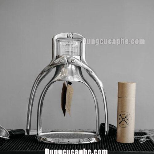 Máy pha cà phê ép bằng tay ROK Presso Maker made in U.K