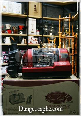 Máy rang cà phê tự động Gene 101A Hàn Quốc