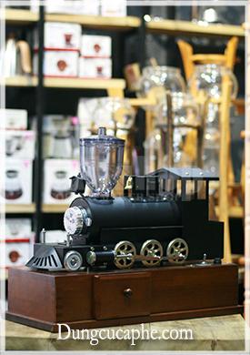 Máy xay cà phê đầu tàu hỏa Carita Kalita Sl Mill kỉ niệm 50 năm thành lập Kalita phiên bản giới hạn made in Japan