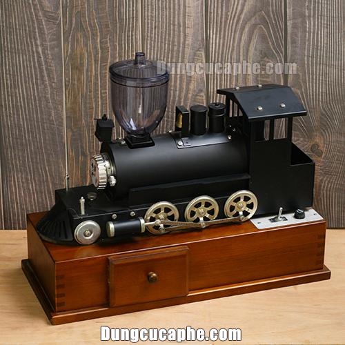 Máy xay cà phê điện đầu tàu hỏa Kalita Nhật Bản- Limited kỷ niệm 60 năm thành lập