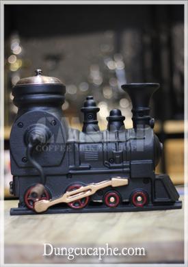 Máy xay cà phê bằng tay đầu tàu xe lửa cổ điển BE 9401