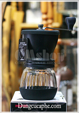 Máy xay cà phê bằng tay Hario Skerton Plus - phiên bản nâng cấp MSCS-2 DTB