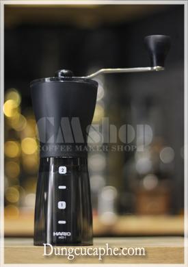 Máy xay cà phê bằng tay Hario Slim rửa được bằng nước