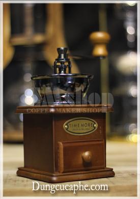 Máy xay cà phê tay cổ điển Time More 8521A