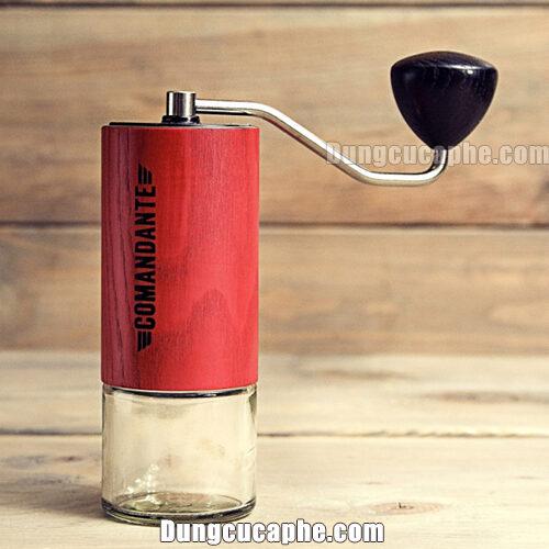 Máy xay tay cà phê Comandante C40 Nitro Blade Red Sonja bản giới hạn