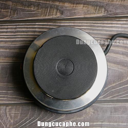 Mặt bếp điện Moka Pot được làm bằng gang truyền nhiệt siêu nhanh