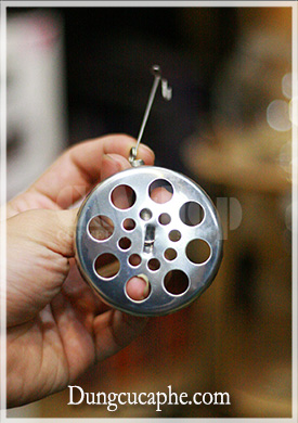 Miếng lọc kim loại thay thế cho Syphon