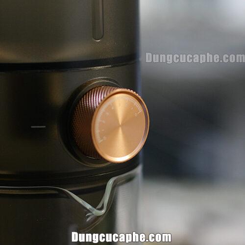 Núm van điều chỉnh nhỏ giọt của bộ pha cà phê lạnh Timemore