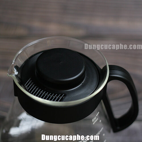 Nắp đậy của bình đựng cà phê Hario XVD 60B bằng nhựa