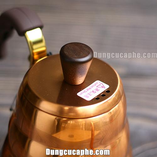 Nắp ấm rót cafe Hario Buono Copper