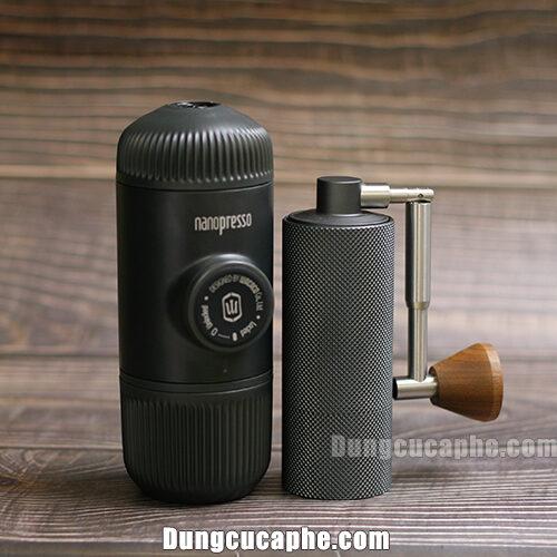 Nanopresso và máy xay tay cà phê Timemore Nano - Combo Phượt thủ