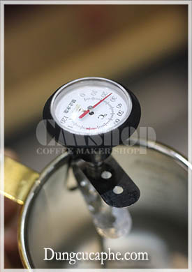 Nhiệt kế Time More đo nhiệt độ nước pha cà phê
