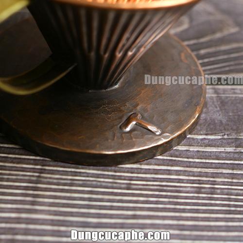 Phễu cà phê đồng Vintage V60 Copper Hammer size 02 – Hàn Quốc