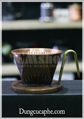 Phễu lọc cà phê đồng đỏ 102 thủ công Hammer – Hàn Quốc.