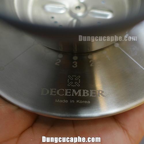 Phễu lọc cà phê December được sản xuất ở Korea