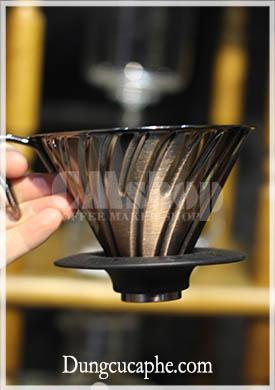 Phễu lọc cà phê Hario V60 mạ đồng VDM-02CP (Copper Dripper)