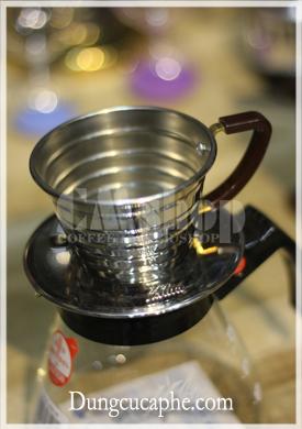 Phễu lọc cà phê Kalita way bạc 155