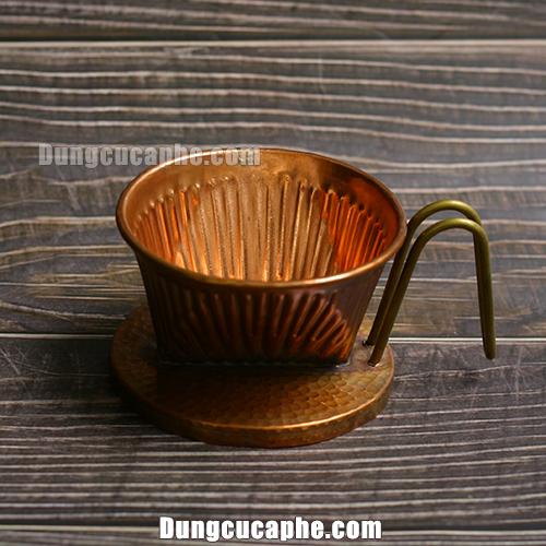 Phễu lọc cà phê bằng đồng Hammer size 101 – Hàn Quốc