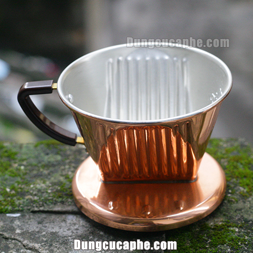 Phễu pha cà phê đồng Kalita 102 - Nhật Bản