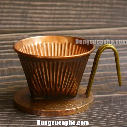 Phễu pha cafe bằng đồng handmade Hàn Quốc – Hammer 102