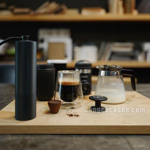 Pha cafe Espresso với Nanopresso mọi lúc mọi nơi