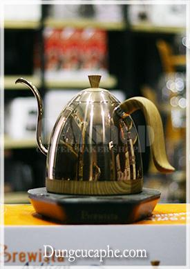 Phiên bản ấm rót cafe cổ ngỗng 600ml Brewista màu rose gold