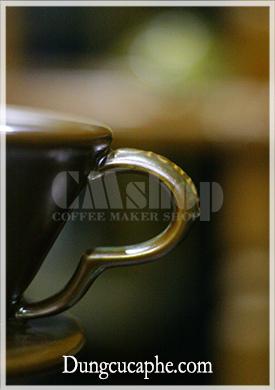 Quai cầm của phễu lọc Brewista Porcelain màu mạ đồng