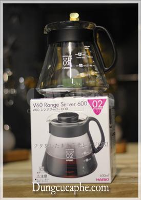 Sever đựng cà phê hario 600ml XDV-60B