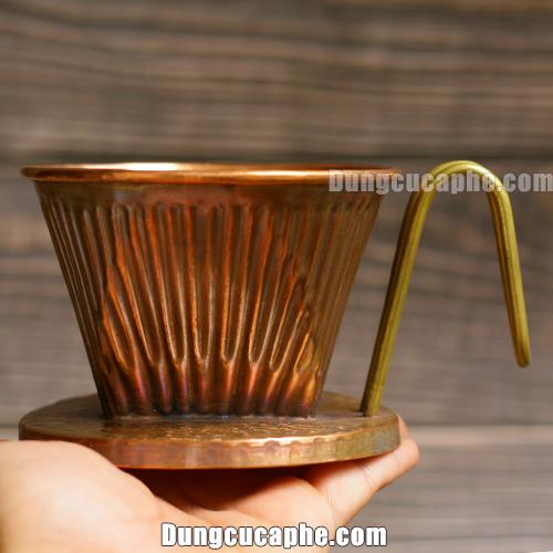 So sánh chiếc phễu lọc Hammer 102 Copper trên tay