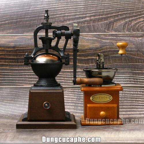 So sánh kích cỡ của máy xay tay cà phê BE9273B