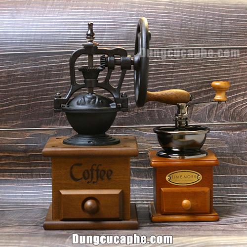 So sánh kích thước của cối xay tay cà phê BE8501-9