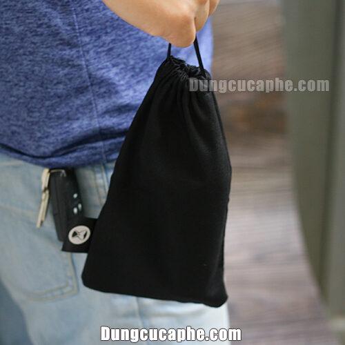 Túi đựng tặng kèm để bạn có thể mang Timemore Nano đi khắp mọi nơi