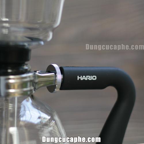 Tay cầm được in thương hiệu Hario