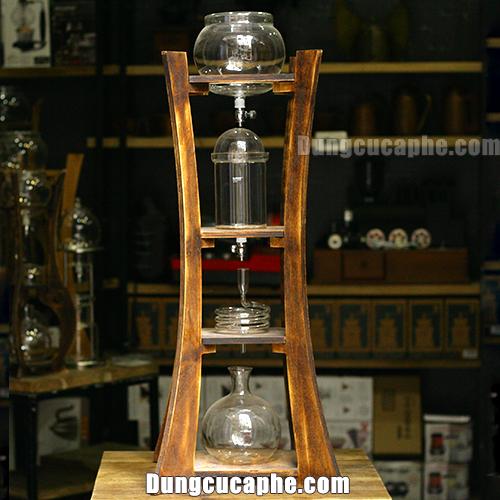 Tháp pha cà phê lạnh Cold Brew lò xo xoắn Gater BD-220 1000ml