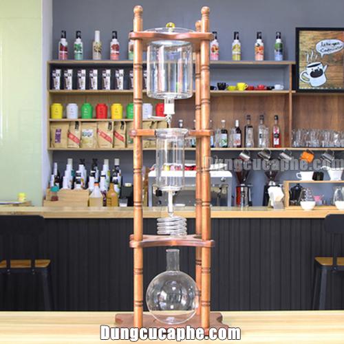 Tháp pha cà phê lạnh Drip Tiamo 4 tầng dung tích 3600ml