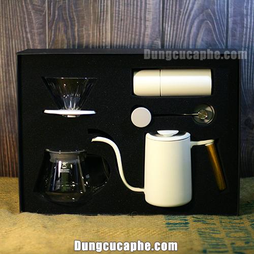 Timemore C2 Coffee Drip Set Black- Mảnh ghép hoàn hảo để bắt đầu với đam mê Pour Over