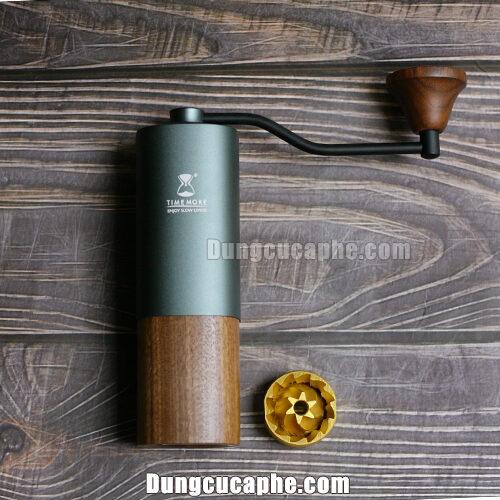 Timemore Chestnut G1S - Phiên bản cối 6 cánh phủ Titanium dành cho Espresso