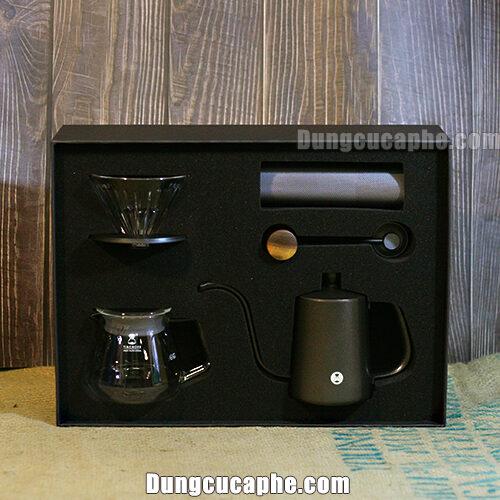 Timemore Chestnut Slim Drip Set - Hộp quà tặng cho người yêu cà phê