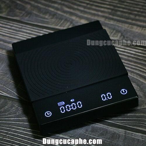 Timemore Mirror Scales Basic - Cân điện tử pha chế cà phê với lối thiết kế tối giản.