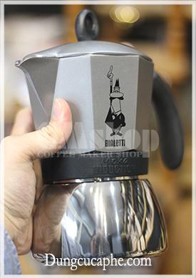 Trên tay ấm pha cà phê Bialetti Induction Italia