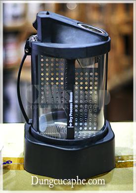 Trống rang cà phê của máy rang tự động Gene 101A Hàn Quốc
