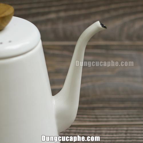 Vòi rót của ấm rót trà và cà phê Hario Bona trắng BDK 80