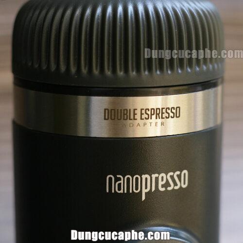 Vòng tích hợp 2 shot espresso theo kèm Kit Nanopresso