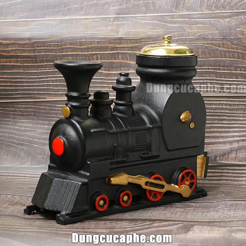 Vẻ đẹp của máy xay tay cà phê cổ điển BE9401 hình dáng đầu tàu hỏa
