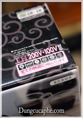 Vỏ hộp ghi chú sử dụng thỏai mái trên tất cả các loại bếp thông dụng như bếp từ, gas, hồng ngoại...