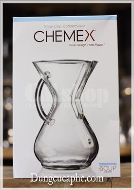 Vỏ hộp six cup Glass Handle Chemex