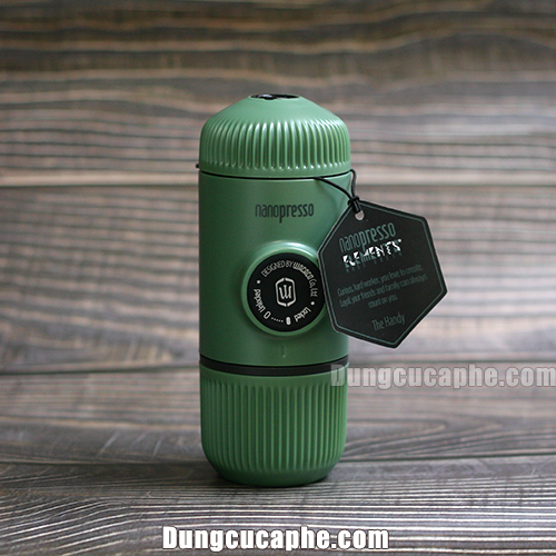 WACACO NANOPRESSO ELEMENTS MOSS GREEN